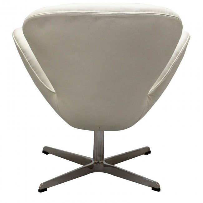arne jacobsen swan chair - leather