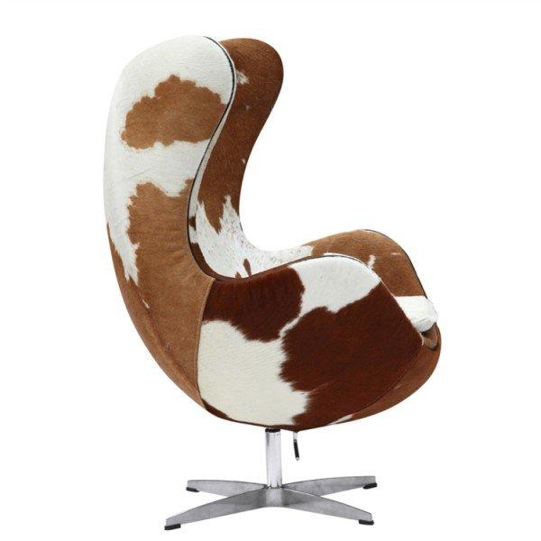 Arne Jacobsen Egg Chair.Arne Jacobsen Egg Chair Pony Cowhide Arne Jacobsen Njmodern