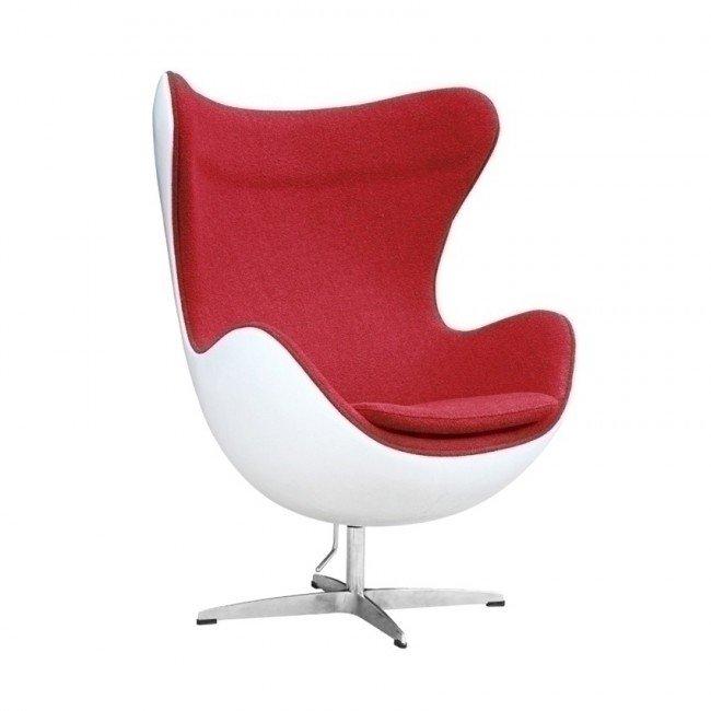 arne jacobsen fiberglass egg chair