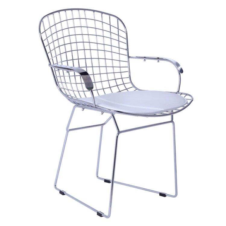 bertoia wire dining armchair | Harry Bertoia | NJMODERN ...