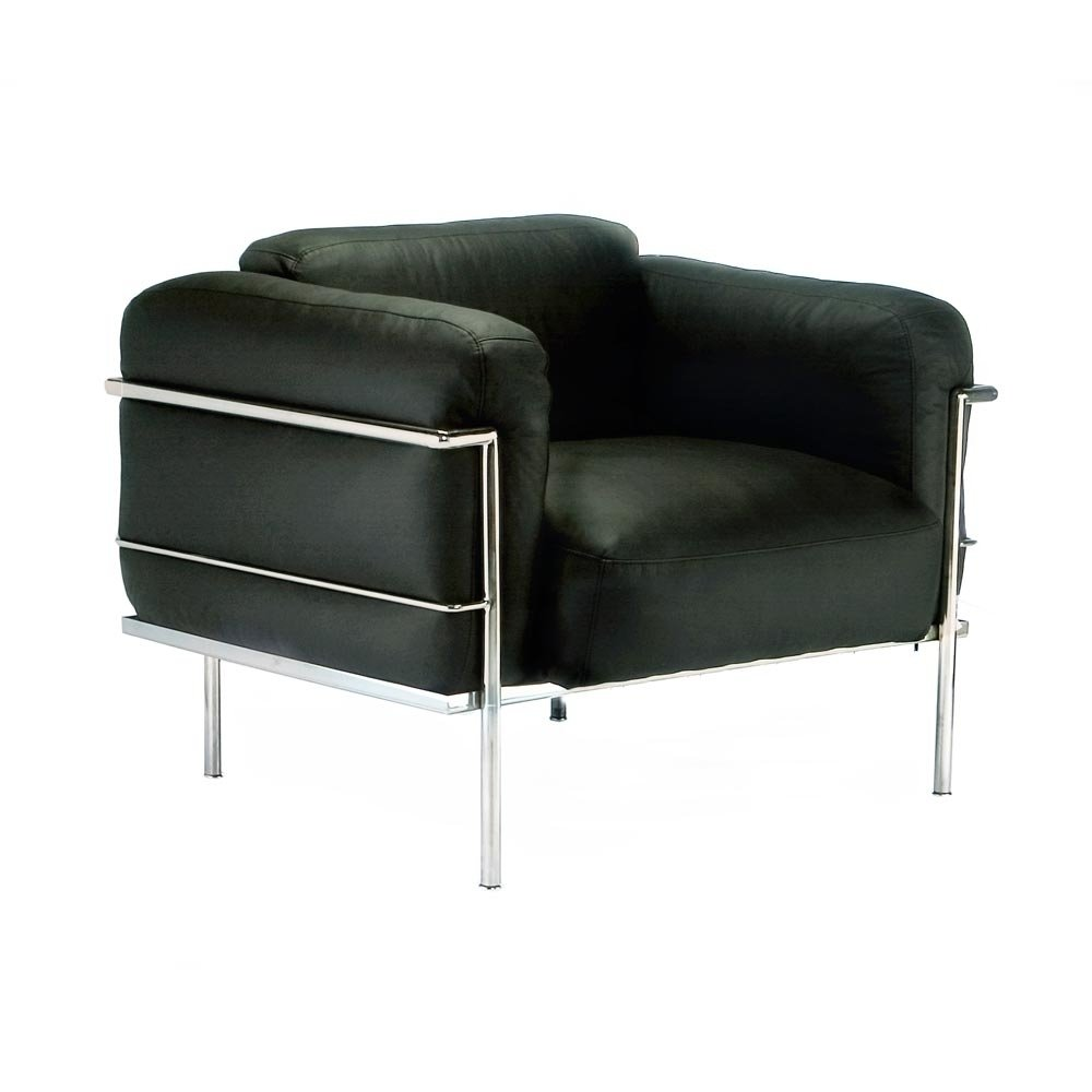 Bethany | Le Corbusier  Down-Filled Armchair Furniture-Living Room-Chairs