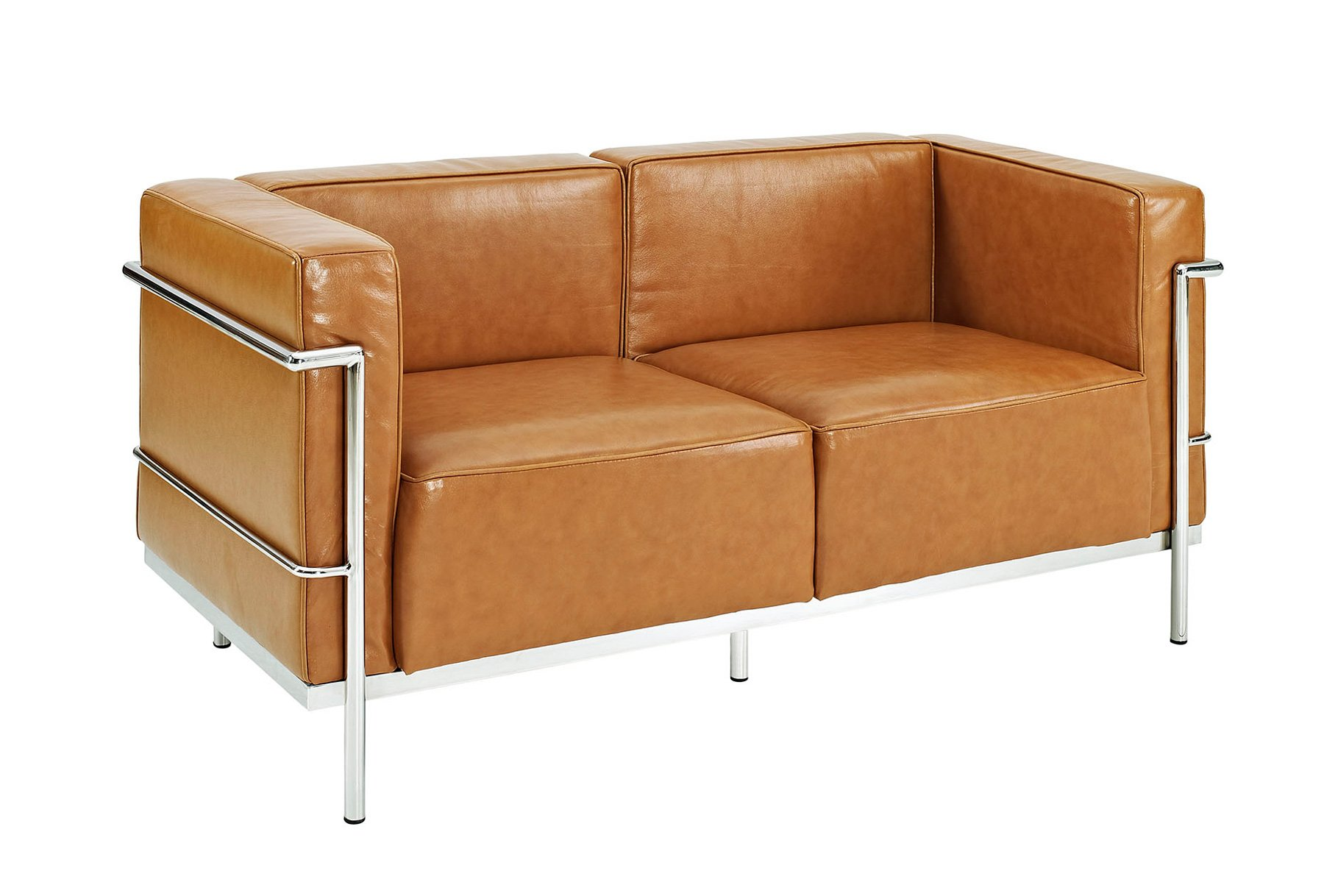 Bethany | Le Corbusier  Loveseat Furniture-Living Room-Loveseats & Settees