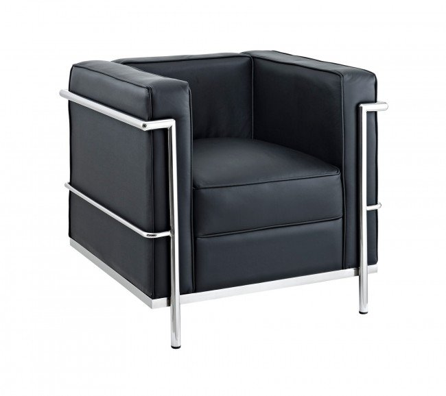 Bethany | Le Corbusier  Petite Armchair Furniture-Living Room-Chairs