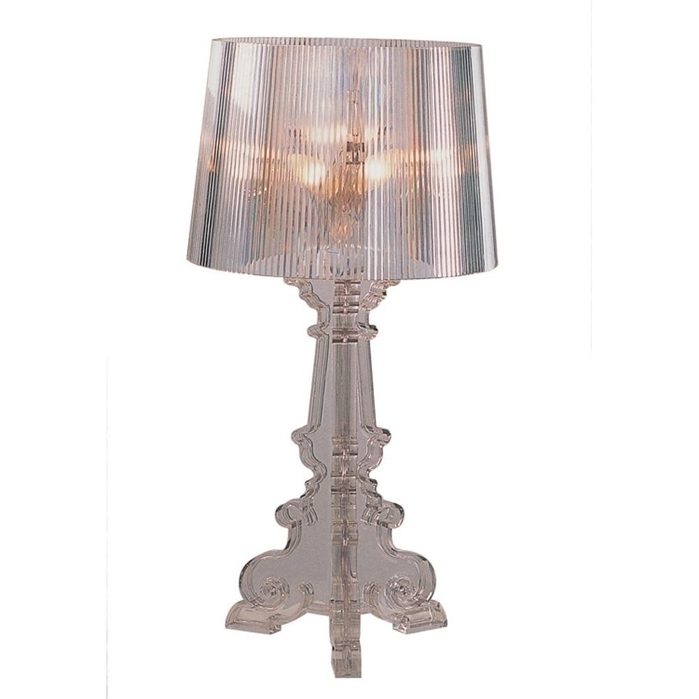 Camillus | Madeline Table Lamp - Clear Furniture-Lighting