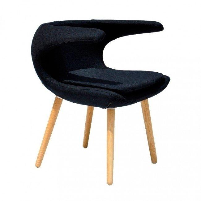 clipper chair - black