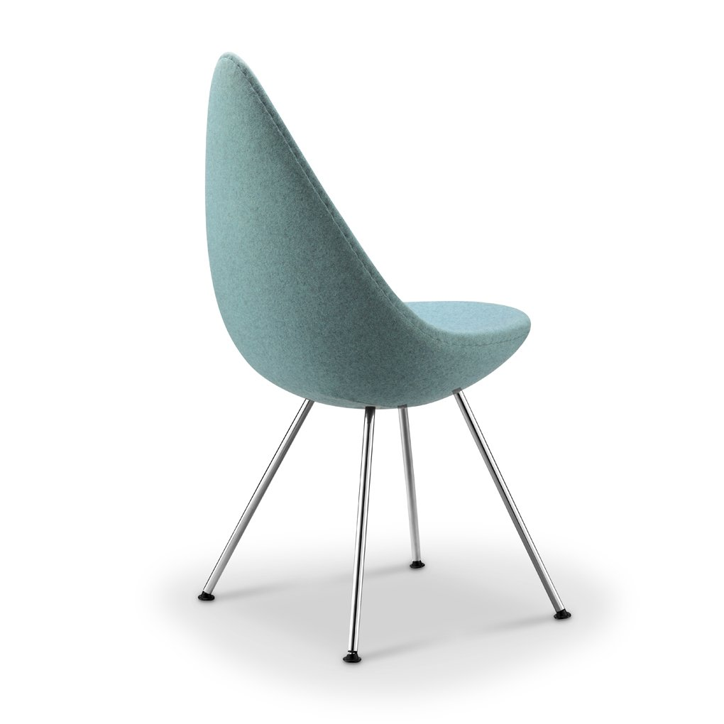 Replica Arne Jacobsen Drop Chair - blue