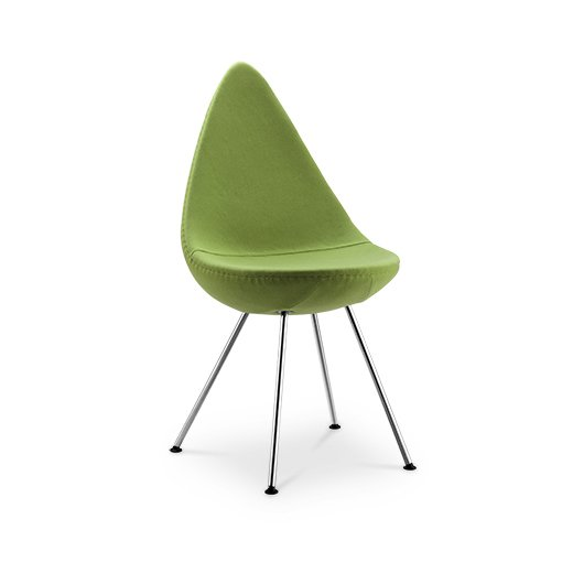 Replica Arne Jacobsen Drop Chair - green