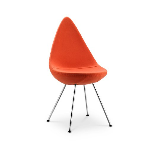 Replica Arne Jacobsen Drop Chair - orange