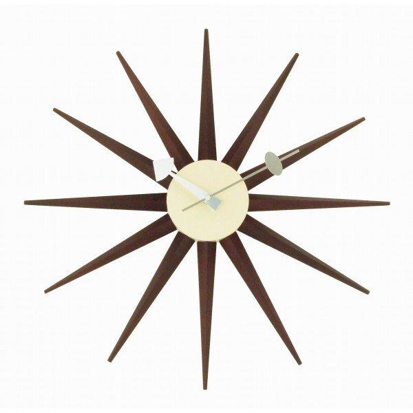 nelson-type sunburst clock