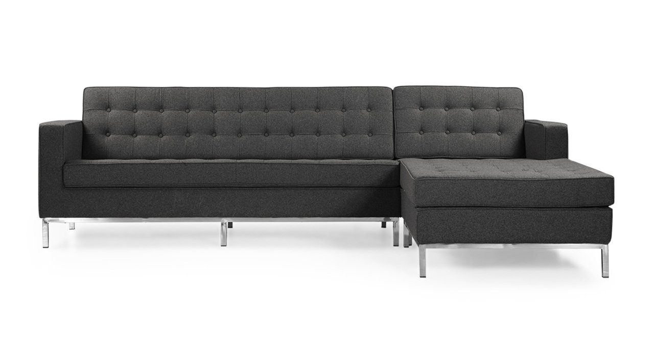 Geneva | Florence Fabric Sectional Sofa Furniture-Living Room-Sectionals