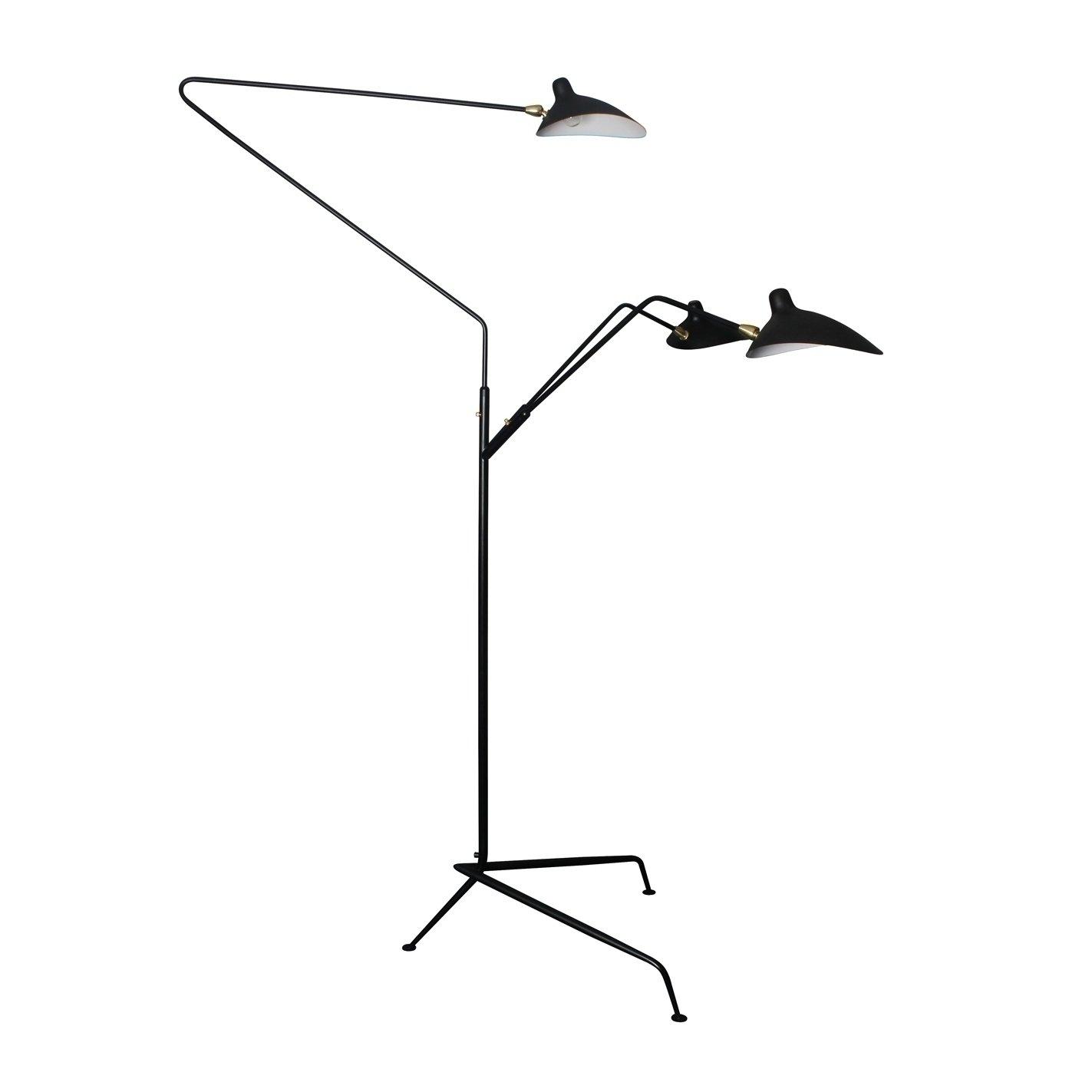Minoa Standing Lamp 3 Arms Furniture-Lighting