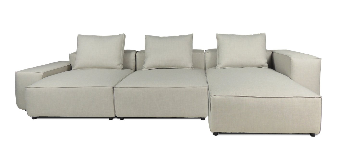 Image of: Lekra Modular Sectional Sofa Njmodern Furniture