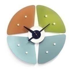 Herrings | Nelson Petal Clock Furniture-Decor Accessories-Clocks