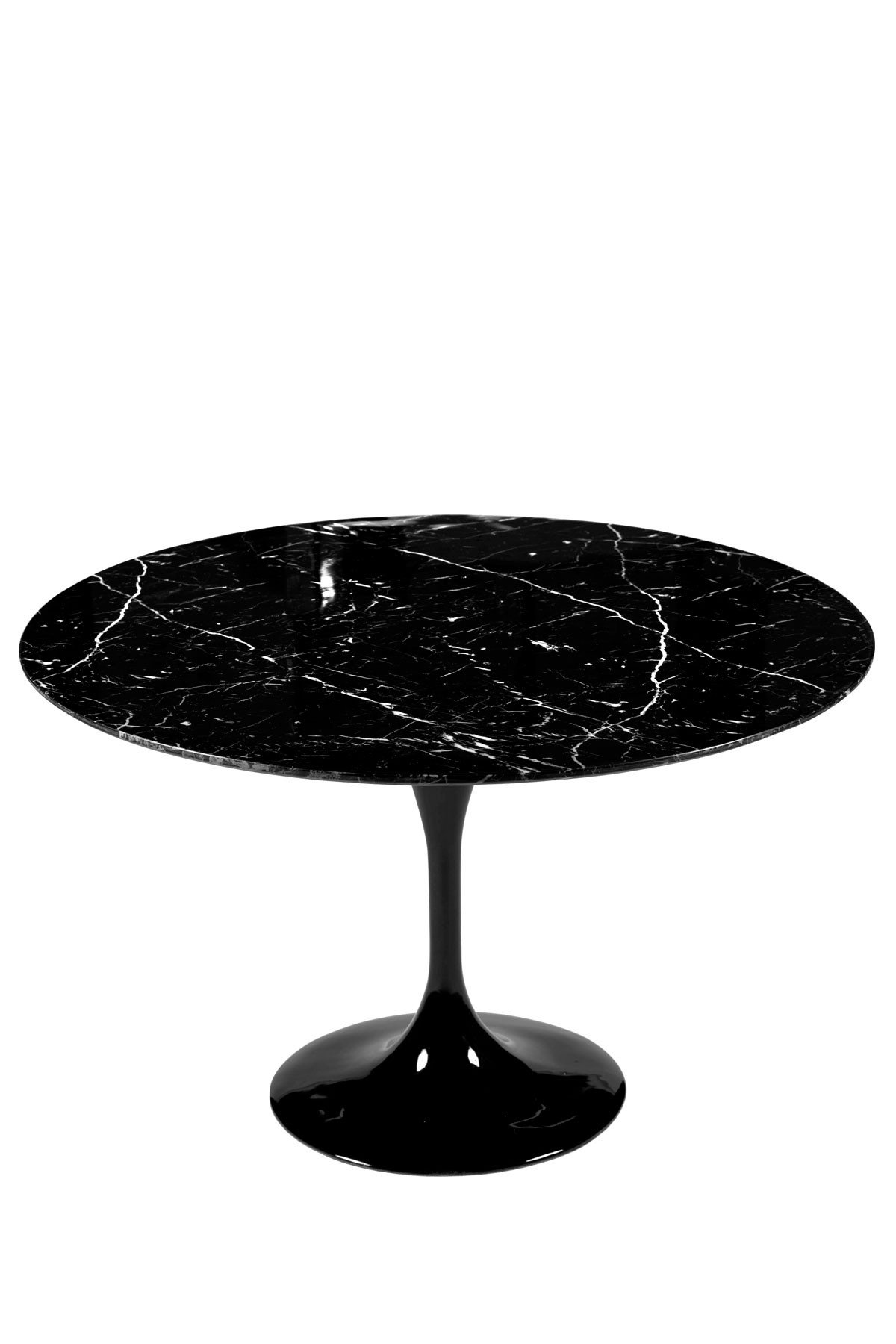Saarinen 36 Round Tulip Marble Dining Table Eero Saarinen Njmodern Furniture
