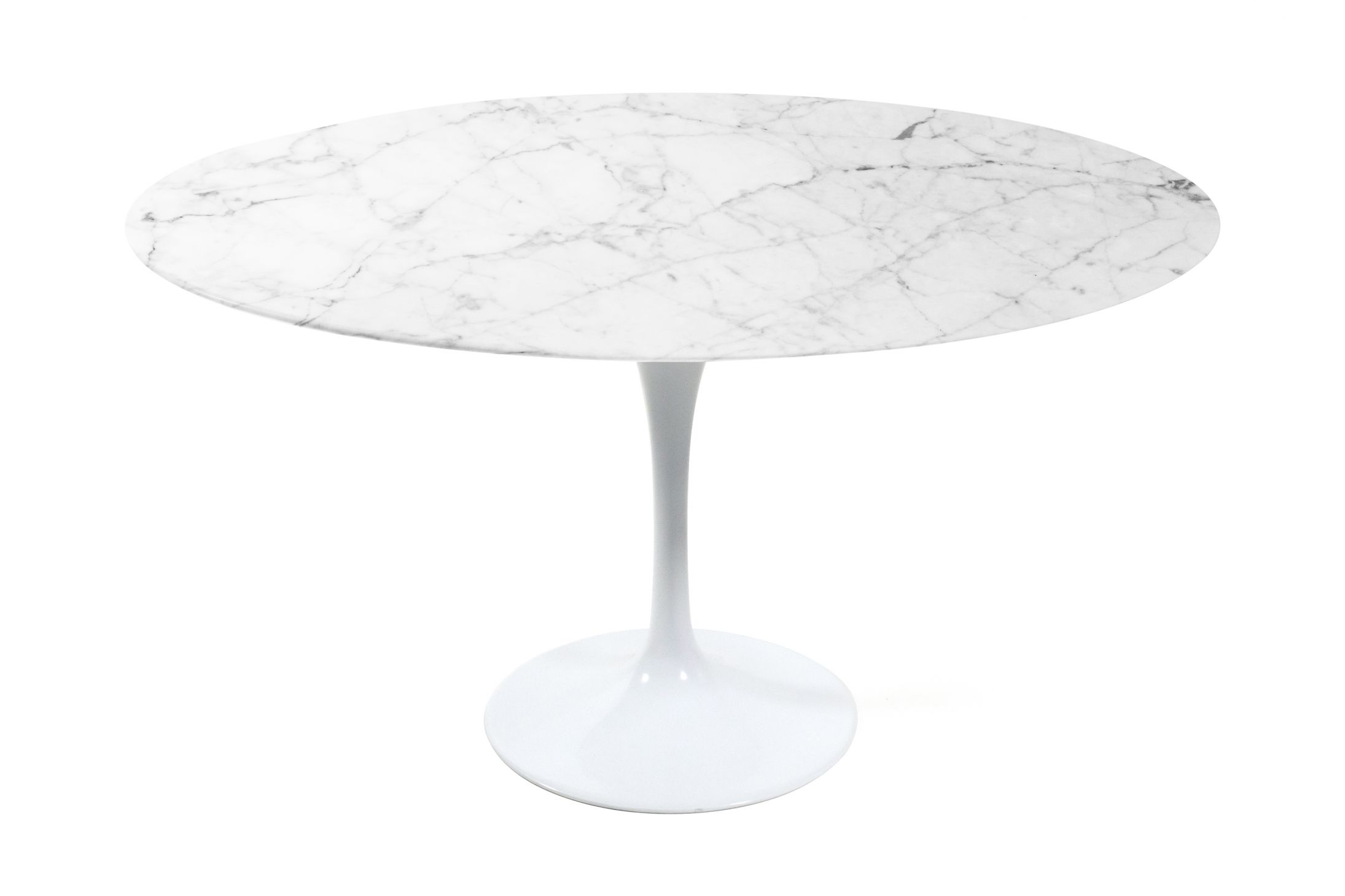 Round Tulip Dining Table Marble