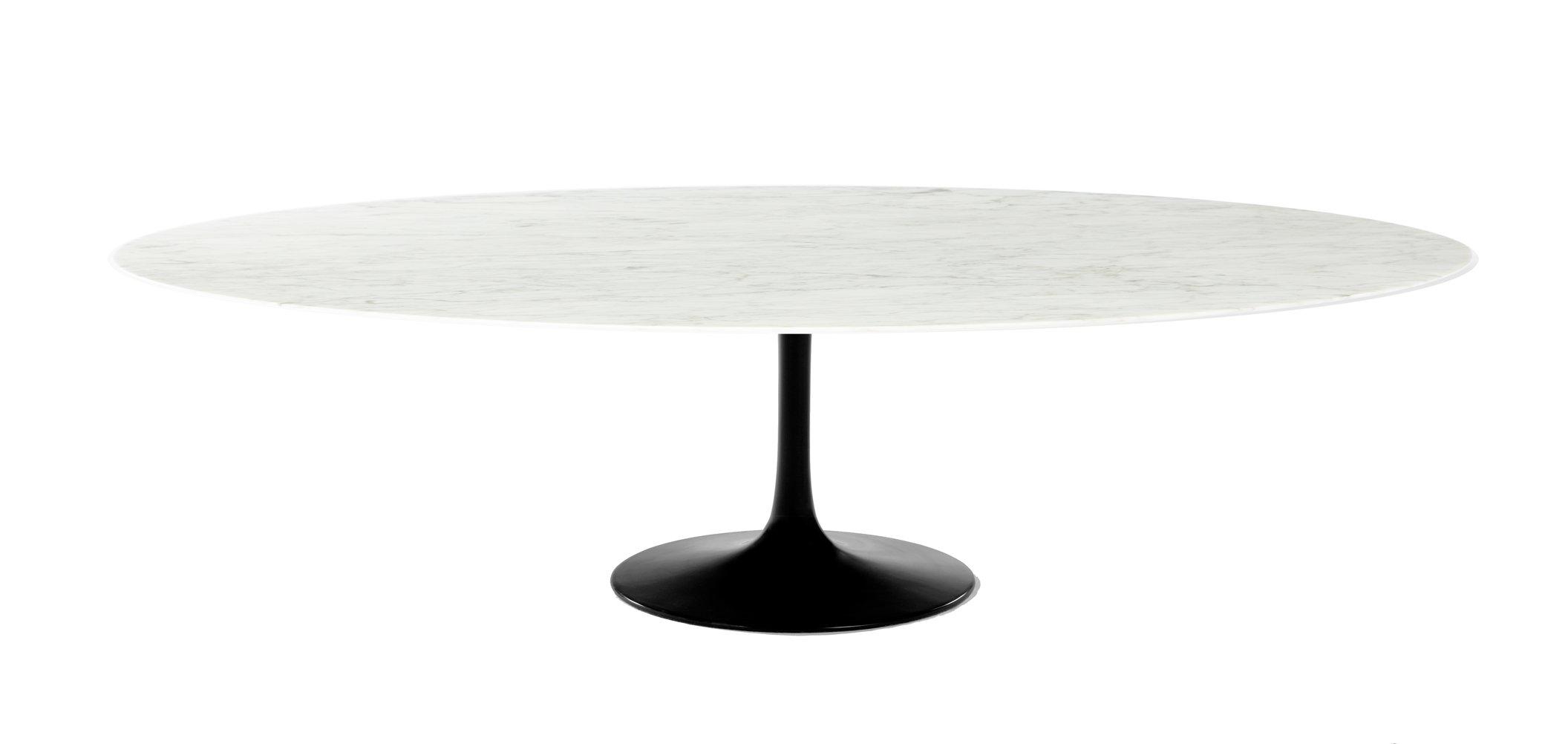 Saarinen 96 Oval Marble Tulip Dining Table Eero Saarinen Njmodern Furniture