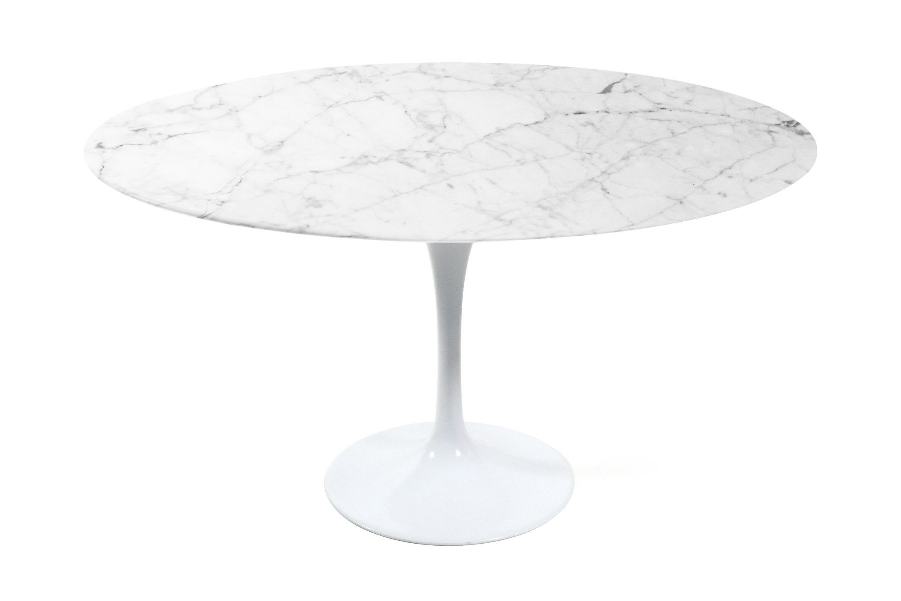 Round Tulip Marble Dining Table