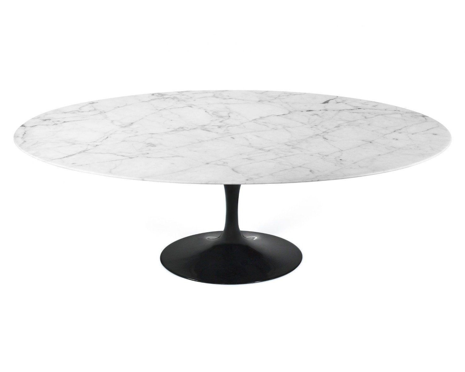 Oval Marble Tulip Dining Table