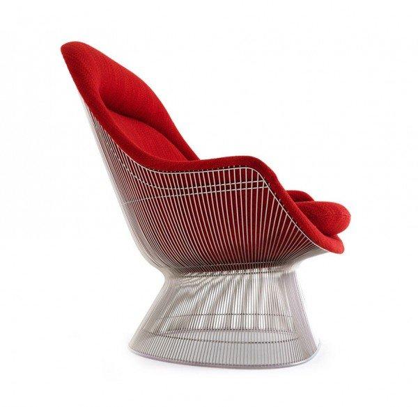 platner easy lounge chair