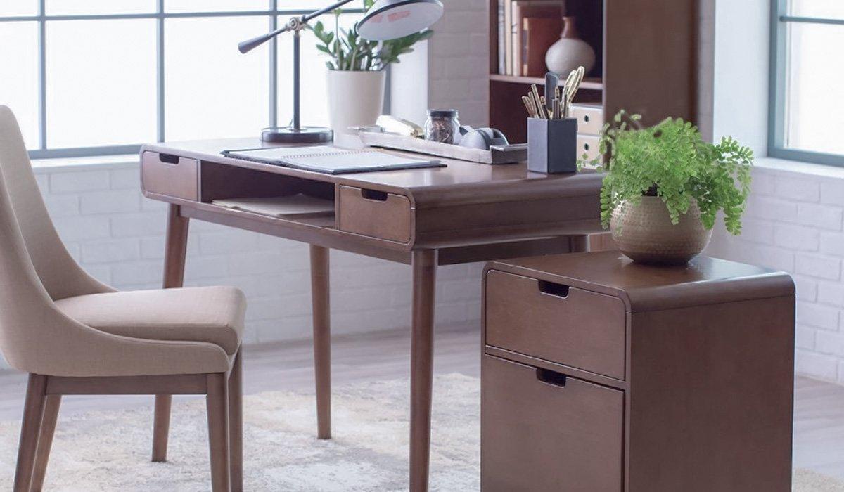 Mid Century Modern Desk, Workspace Desk & Office Desk - HONORMILL